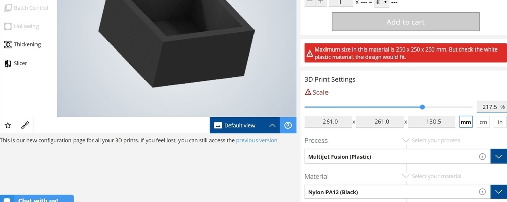 Design guidelines for 3D Printing