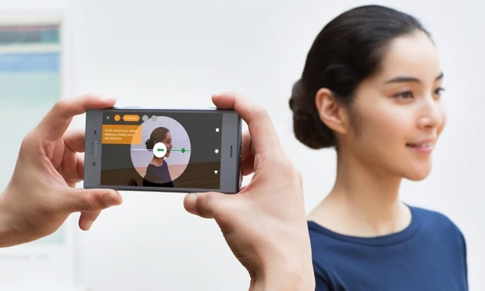 3D scanning people with smartphone