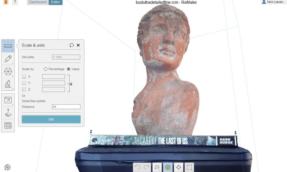 Making a 3D scan with a smartphone - 3dscanexpert.com