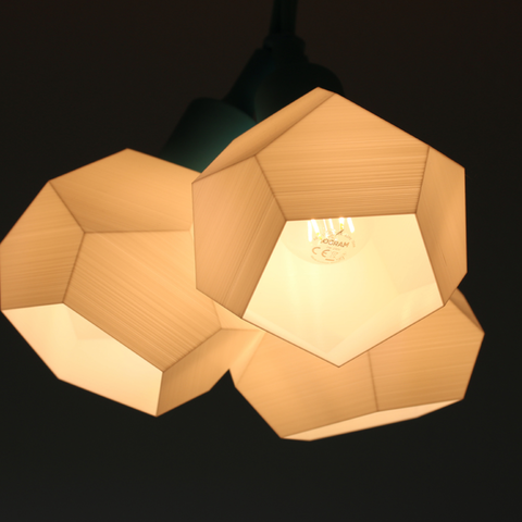 Customizable Geometrical 3D Lamp