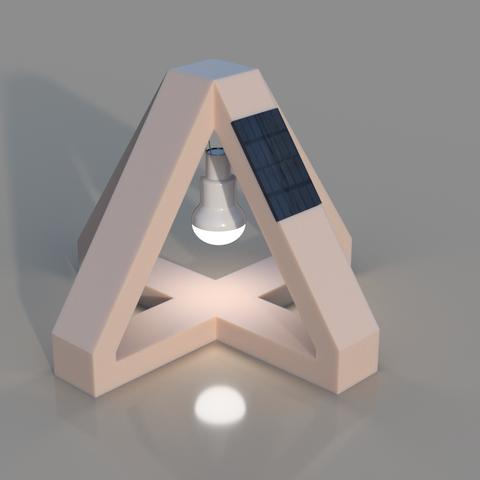 The 3D printed Futuristic Lam