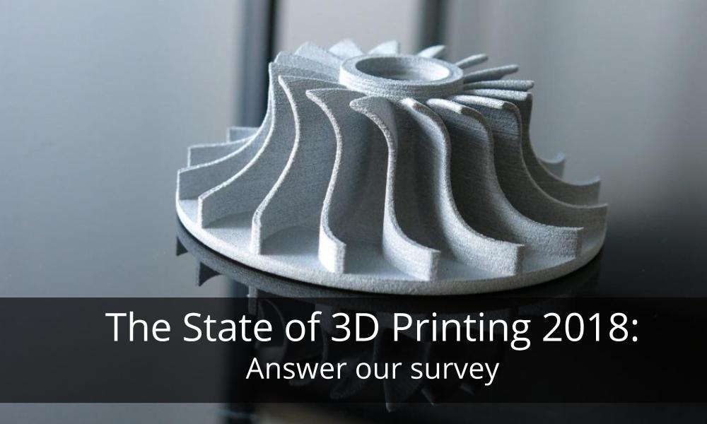 The State of 3D Printing: Answer our surey!