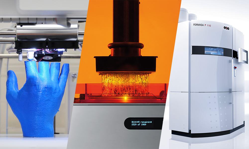 FDM, SLA, CLIP oder SLS: Welches ist das beste 3D-Druckverfahren?