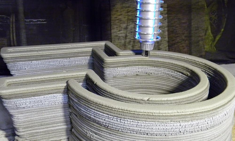 L'impression 3D de béton : Un nouveau défi pour le secteur de la construction