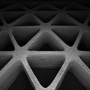 3D printed honeycomb structure foam ink