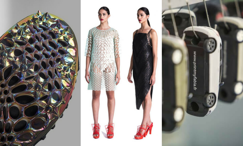 Discover the best projects of 3D printing in the retail industry