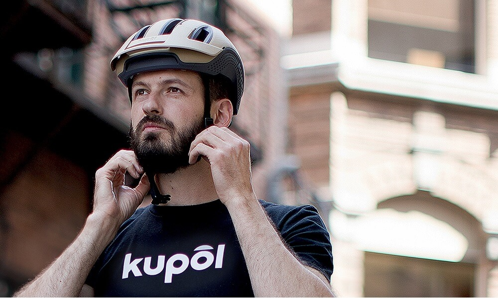 The world's first 3D printed bike helmet by Kupol!
