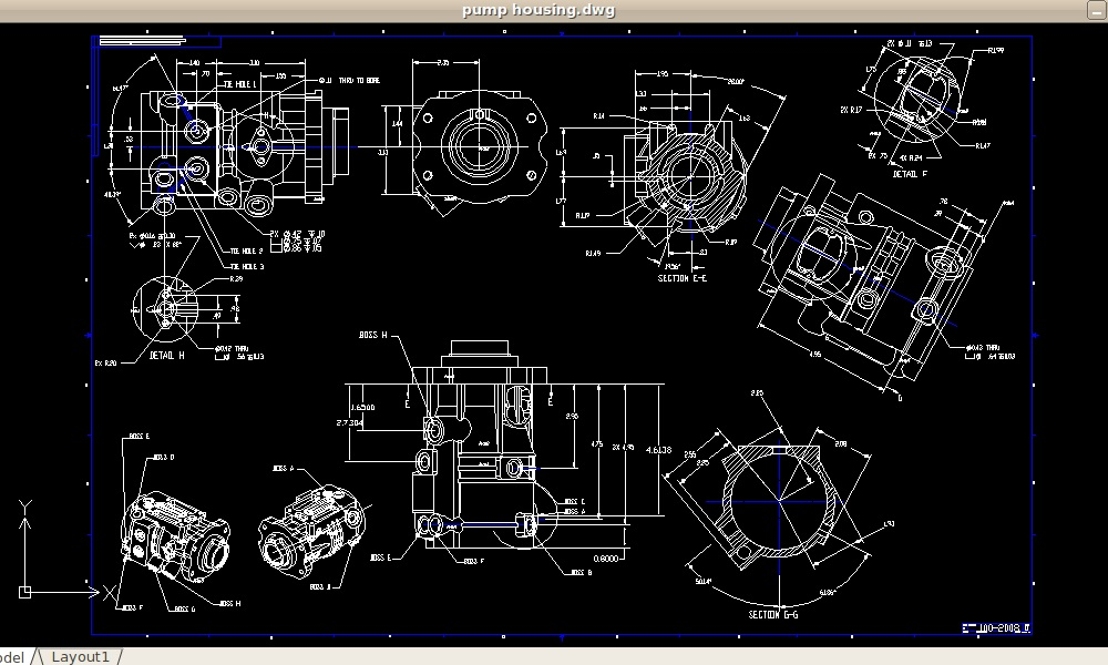 Top of the best free 2D CAD software!