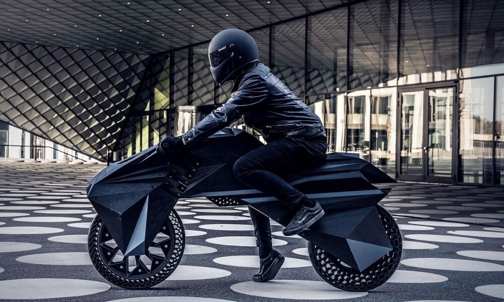 3D printed motorcycle: Is it functional?
