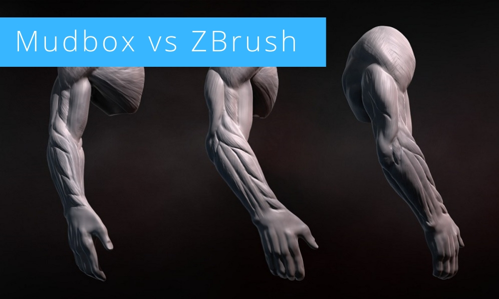 Battle of Software 2020: Mudbox vs ZBrush