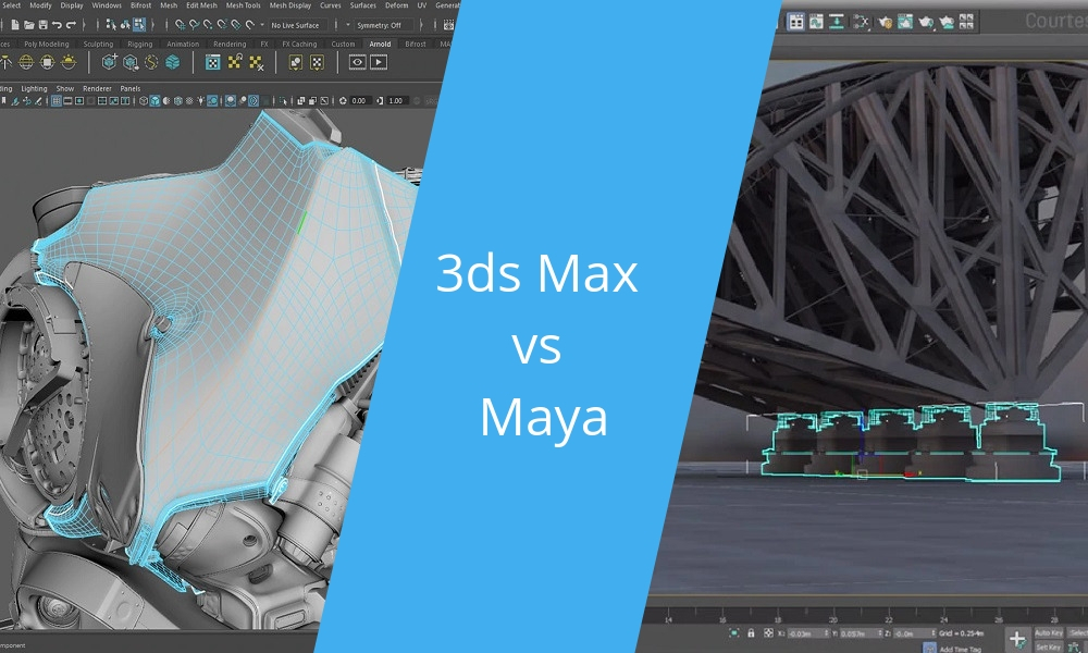 Battle of Software 2021: 3ds Max vs MAYA