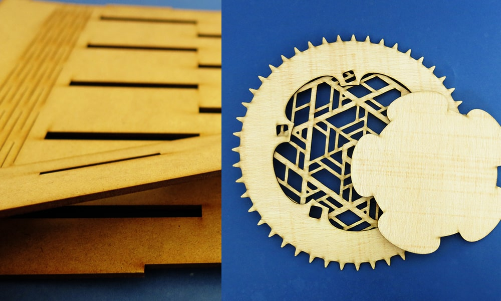 What are the benefits of laser cutting?