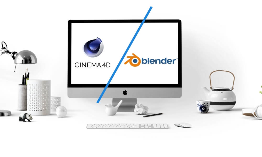 Battle of software 2020: Cinema 4D vs Blender