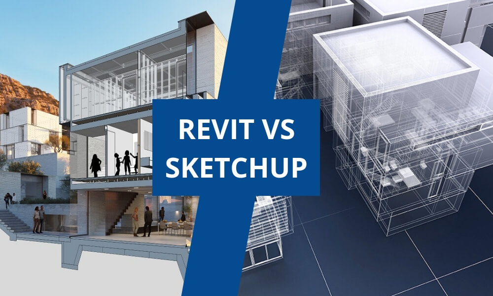 The next battle of software: Revit vs Sketchup