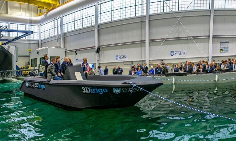 The revolution of 3D printed boat: meet the 3Dirigo