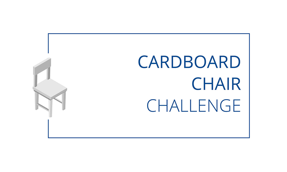 The Cardboard Chair Challenge