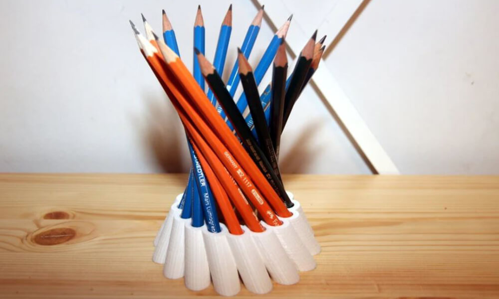 The baker's dozen pencil holder design challenge