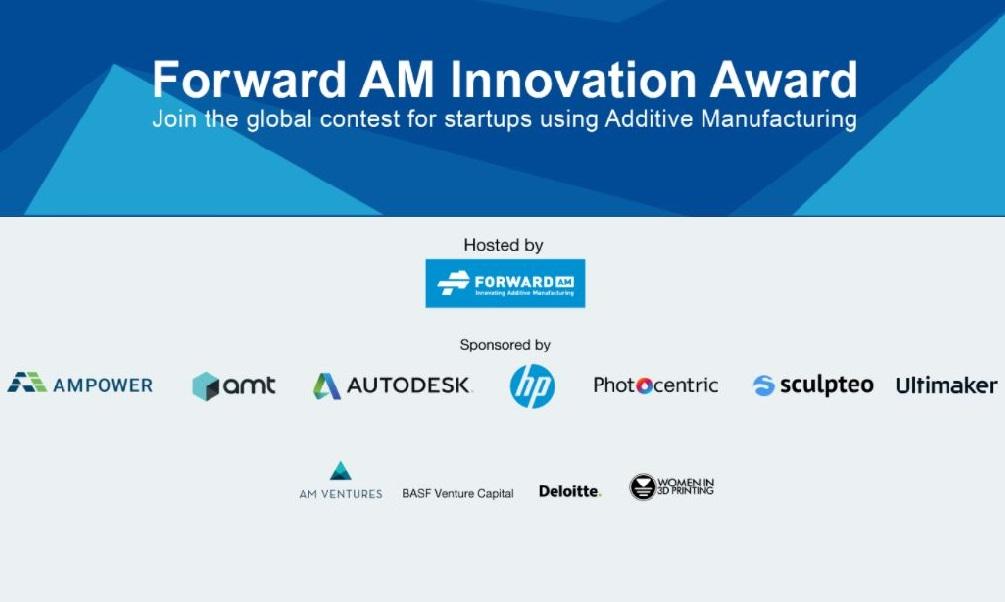 Forward AM Innovation Award, un concours pour récompenser les startups innovantes !