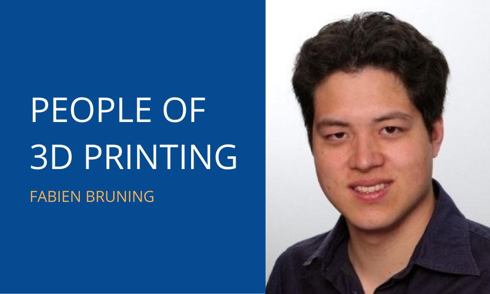 People of 3D Printing: Fabien Bruning
