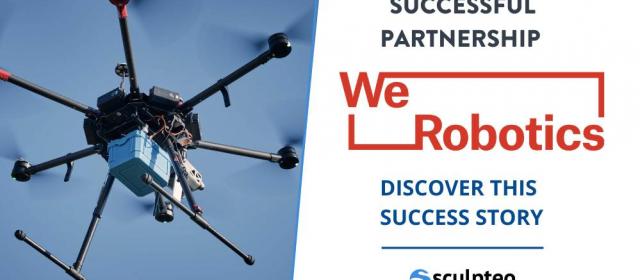 WeRobotics utilise la fabrication additive pour plus d'innovation et d'adaptabilité !