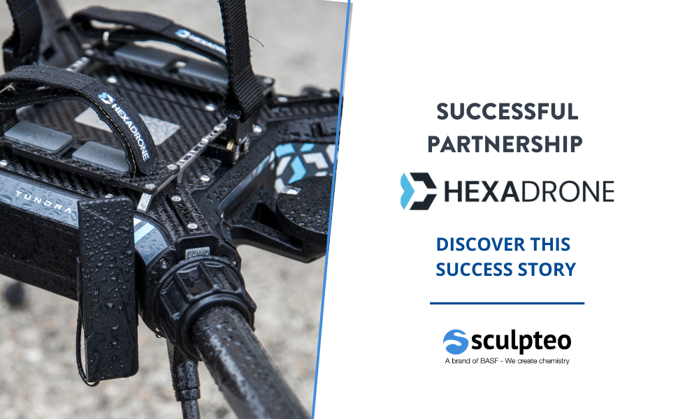 Hexadrone successfully develops its most popular drone, Tundra, using additive manufacturing.