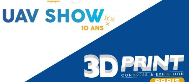 Meet us at UAV Show and 3D Print Paris in October!