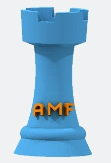 AMF File Format for 3D Printing
