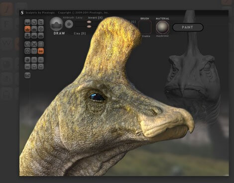 Sculptris software