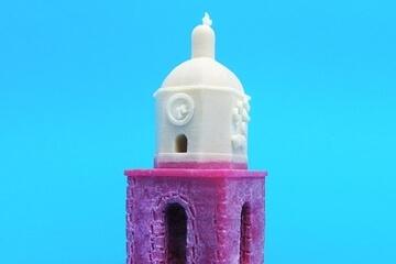 Saint-Tropez candle 3d printing