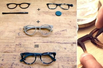 3D Printed Eyewear with Netlooks