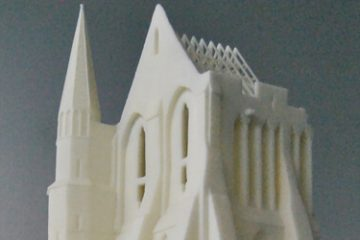 Mont St Michel in 3D printing