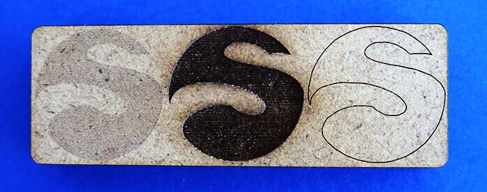 mdf laser engraving