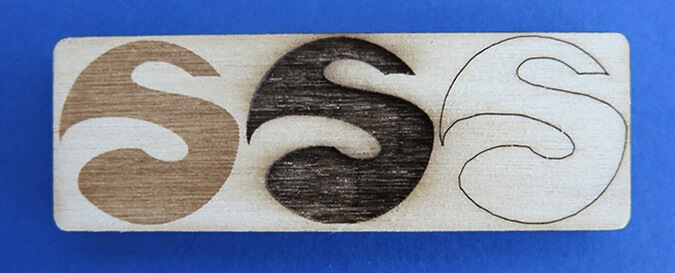 laser engraving plywood