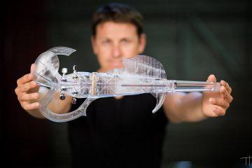 3d printed violin