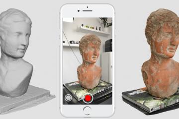 3d scan smartphone