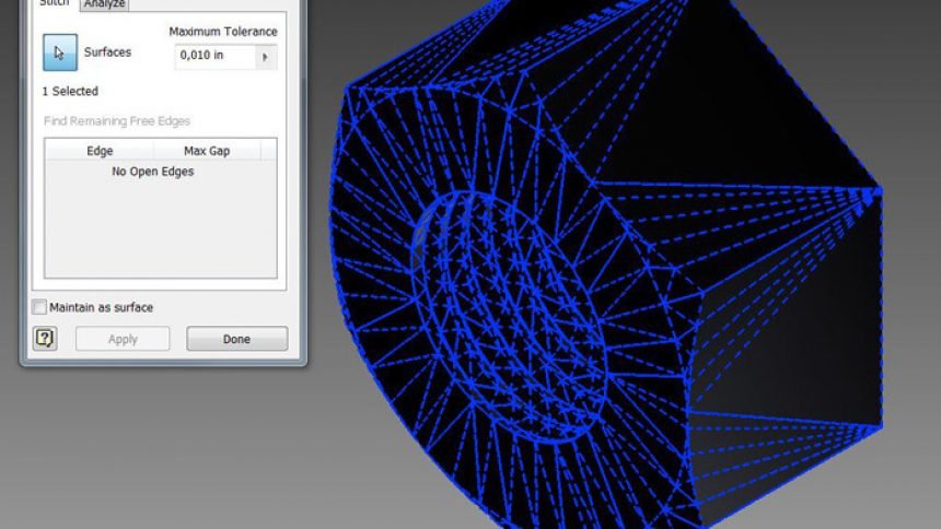 Autodesk Inventor screenshot
