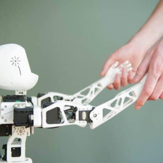 poppy drone robot 3d printing