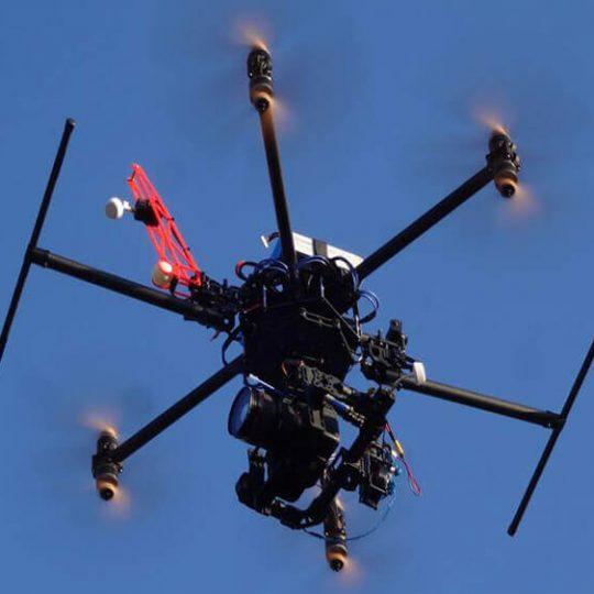 hexa drone 3d printing