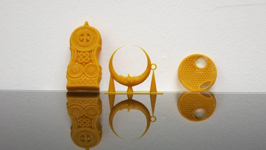 3D Printed Wax