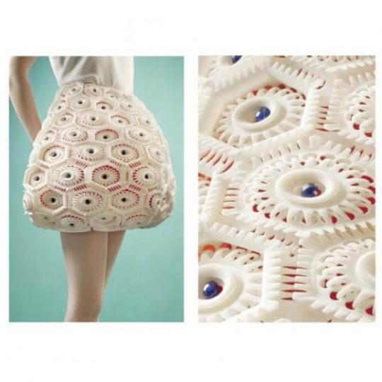 virus collection fashion 3d printing