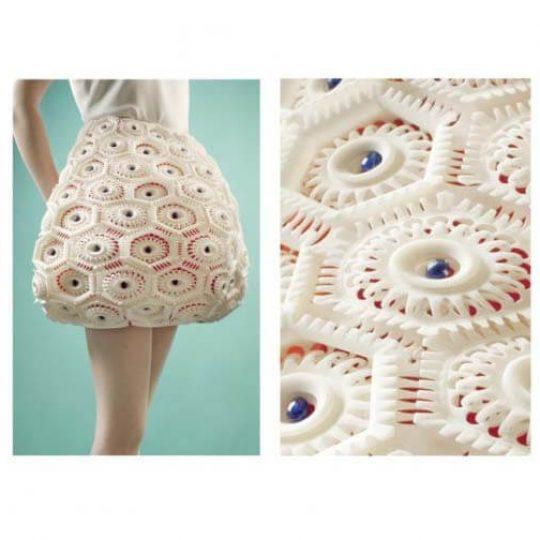 virus collection fashion 3d printing